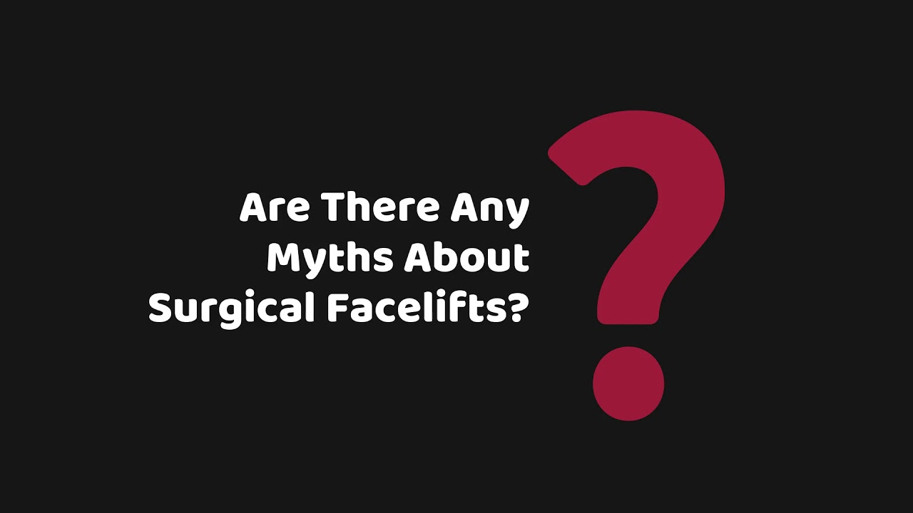 Busting Top Myths About Facelifts | Canada MedLaser Vaughan