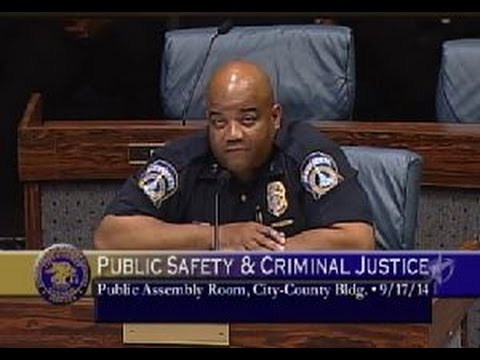 """The Police are a """"Paramilitary Organization"""" serving """"Whoever sits in that chair"""""""