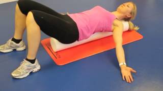 Foam Roller Chest/Pectoral Stretch
