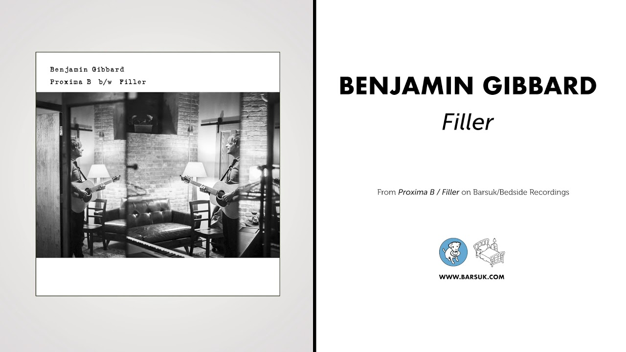Benjamin Gibbard - Filler [Minor Threat Cover] (Official Audio)