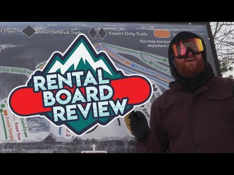 Rental Snowboard Review: Wild Mountain