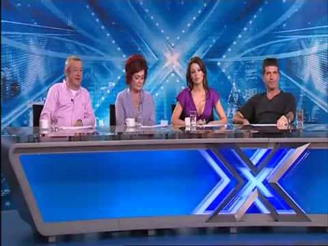 Terrible audtion! X Factor Judges can't stop laughing!