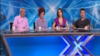 Terrible audtion! X Factor Judges can