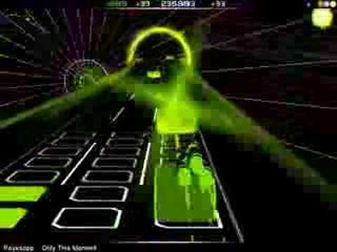 Audiosurf -- Only This Moment (Royksopp)
