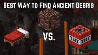 Whats the BEST Way to Find Ancient Debris?? Minecraft 1.16