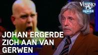 Johan ergerde zich aan Van Gerwen: 'Niet te vergelijken met Van der Poel' | VERONICA INSIDE