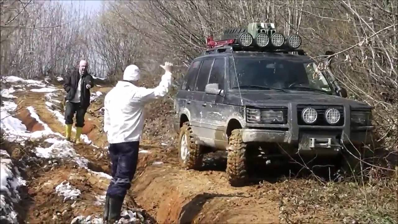Land Rover Hse >> RANGE ROVER P38 4.6 V8 **OFFROAD SHOW** - YouTube