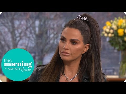 Katie Price Reveals Why She's Putting Harvey into Care   This Morning