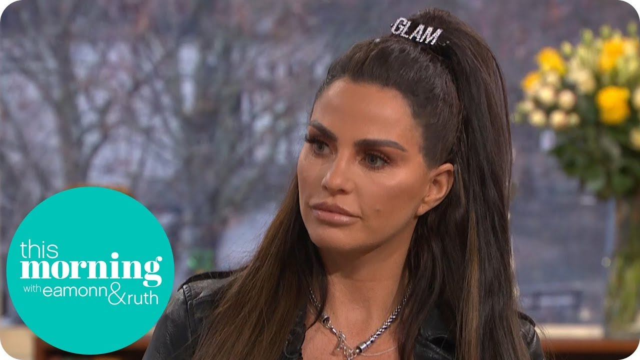 Katie Price reveals she's putting son Harvey into full-time care