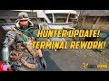 Hunter Update! New Terminal! (Phantom is scary now)