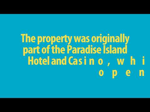 @Bahamas - Atlantis Paradise Island Is An Ocean-themed Resort Hotel & Casino In The Bahamas 1968!