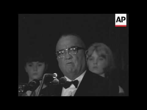 J Edgar Hoover hits out at critics in Chicago speech