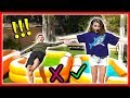 Don't Trust Fall Into The Wrong Mystery Pool | GROSS Challenge! | We Are The Davises