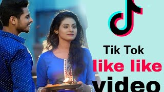 Odia actor rakesh and shardha fun with tik tok
