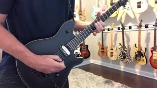 New Guitar Day!! 2014 EVH Wolfgang Stealth Special - Made In Mexico - Man In The Box Solo - Alice