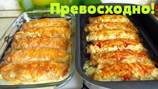 Изумительные бризоли, готовить одно удовольствие очень легко и просто!