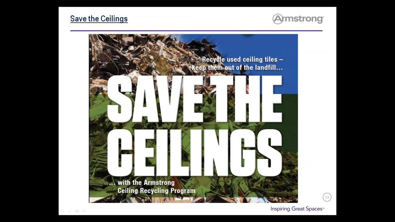 3 15 16 Nrc Rmc Smm Webinar Ceiling Tile Recycling Youtube