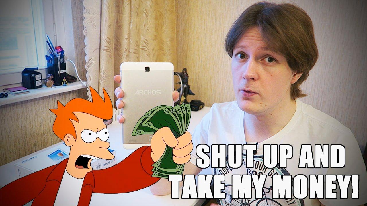 Купить планшет недорого Киев EvroMedia Play Pad 3G Note (1/8Gb .