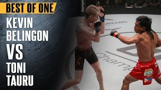 "ONE: Best Fights | Kevin Belingon vs. Toni Tauru | Kevin Belingon ""Silences"" Toni Tauru 