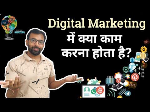 Digital Marketing Main Kya Kaam Karna Hota Hai | What is Involved in a Digital Marketing Job?