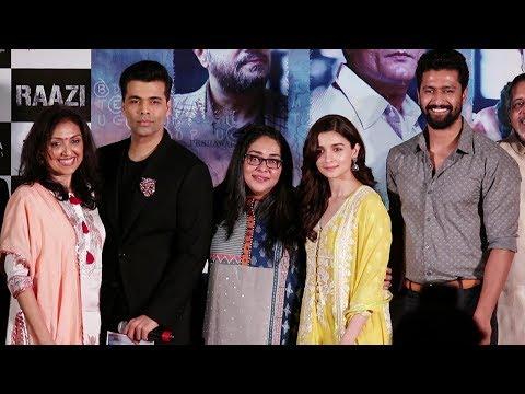 Alia Bhatt's Raazi Movie Success Press Conference | Karan Johar, Vicky Kaushal