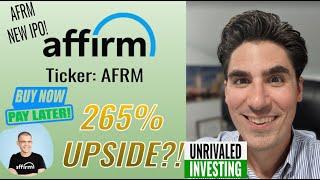Affirm IPO! AFRM Stock Analysis! 265% Upside?