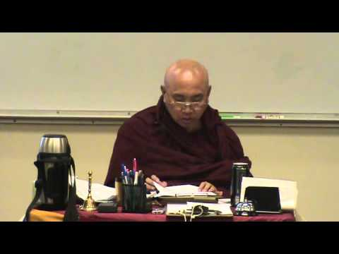 Dec 27, 2008 Visuddhimagga by Venerable Sayadaw U Jotalankara at TDS Dhamma Class