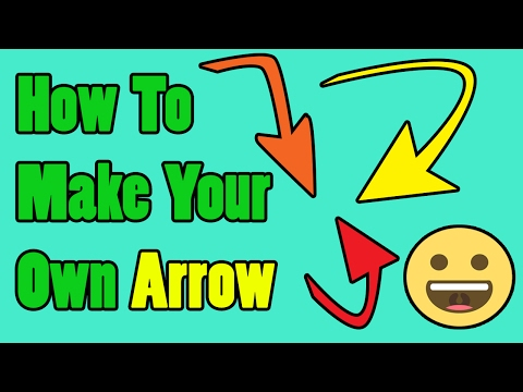 How To Make Your Own Arrow In Photoshop Cc/cs6 2017