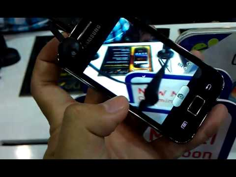 TechXcite: Samsung Galaxy Cooper preview in Thailand Mobile Expo 2011