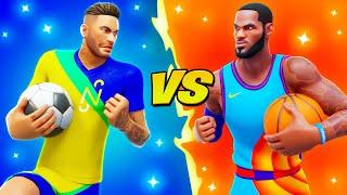 SOCCER vs BASKETBALL!