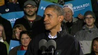 Obama gets emotional during final speech
