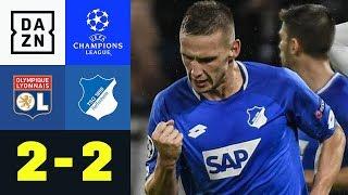 90+2! Pavel Kaderabek rettet TSG einen Punkt: Lyon – Hoffenheim 2:2 | Champions League | Highlights