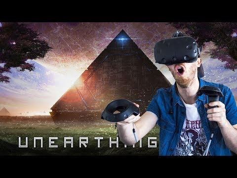 BECOME AN ASTRONAUT IN VR! | Unearthing Mars VR - HTC Vive Gameplay