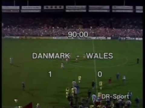 1987 Danmark - Wales 1-0 (EM-kval.)