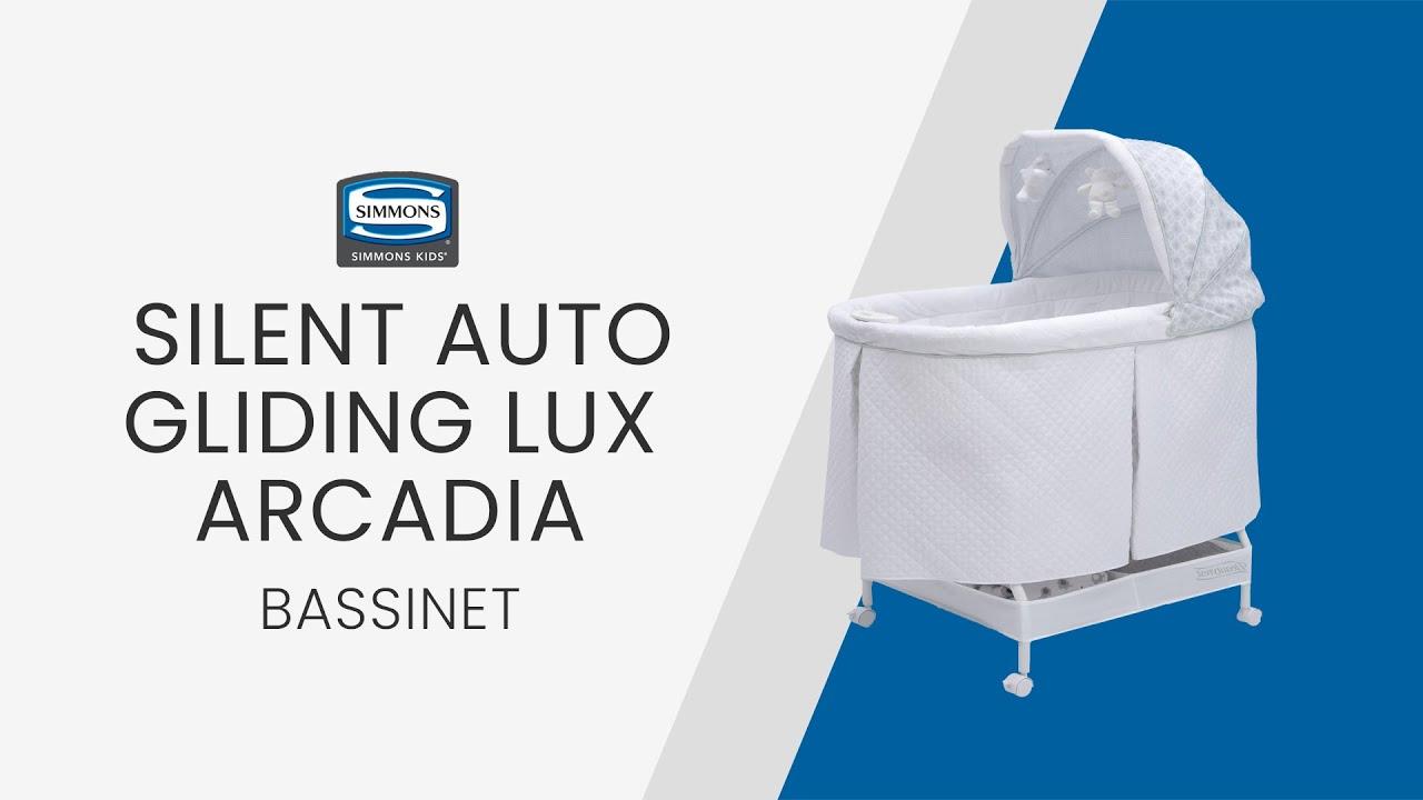 Beautyrest Silent Auto Gliding Lux Bassinet By Delta Children
