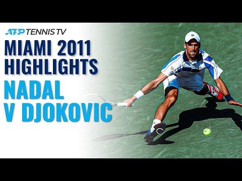 2011 Djokovic had such clean aggressive ground strokes: 2011 Miami Final