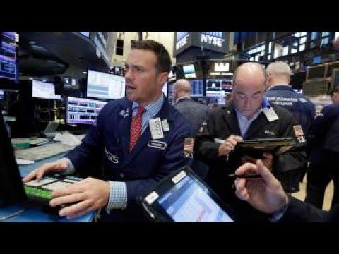 Financial, tech stocks lift markets higher