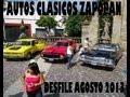 AUTOS CLASICOS ZAPOPAN DESFILE AGOSTO 2013