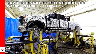 2020 Chevrolet Silverado HD Factory, Testing, & Technology