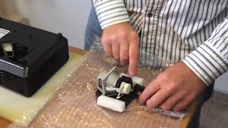 How to Replace a Projector Lamp in projector ACER X110P