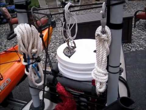 DIY PERFORMANCE AND EQUIPMENT MANAGEMENT MODS FOR A SIT ON TOP KAYAK