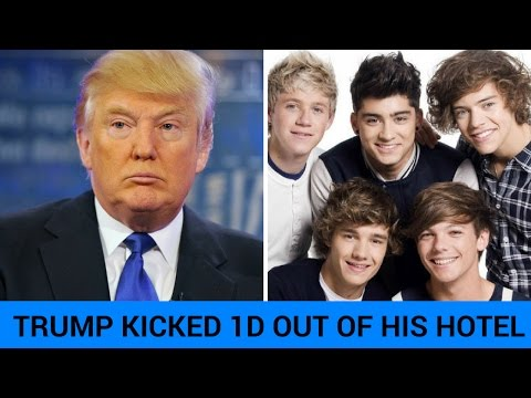 Donald Trump Kicked One Direction Out Of His Hotel?!