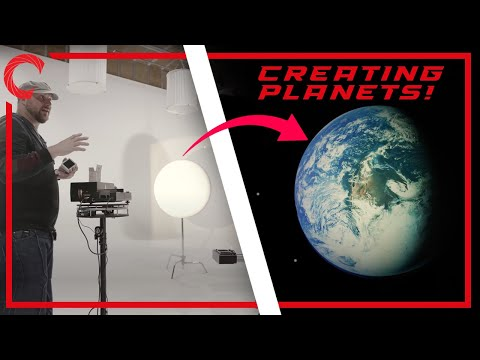 Shoot Your Own Planets! Practical Effects Tutorial - NO CGI