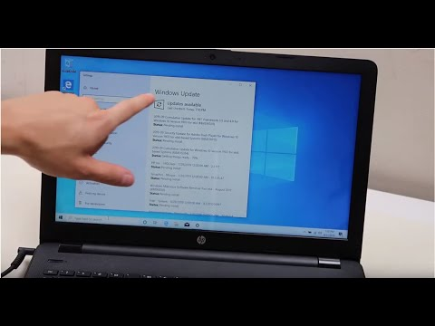 DIY How To Update Your Windows 10 Laptop Computer - HP