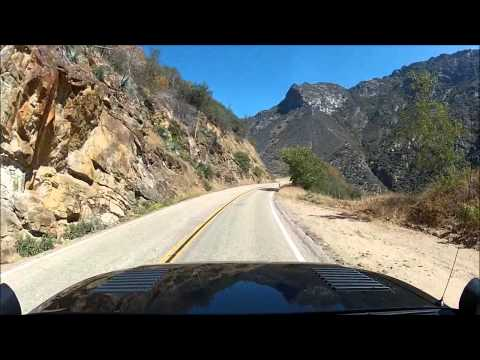 kings canyon scenic drive
