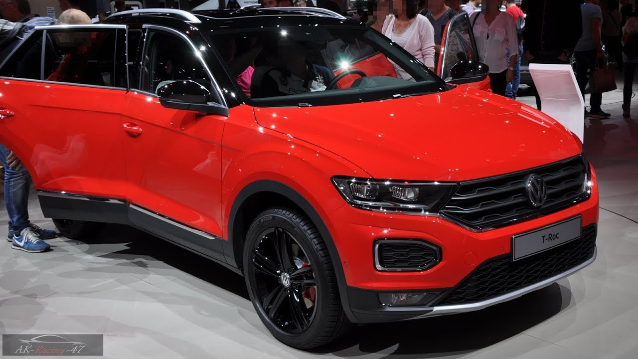 2019 Vw T Roc Interior Exterior Volkswagen Troc Suv New 2018 Youtube