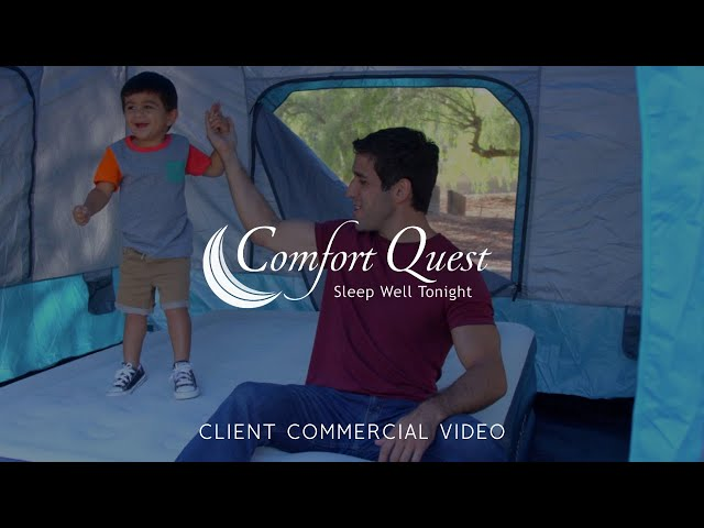 Comfort Quest Air Mattress Commercial Video - Made by Envy Creative