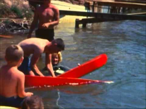 Home Movies - Skiing on the Colorado River.