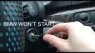 5 Reasons Why Your BMW Will Not Start