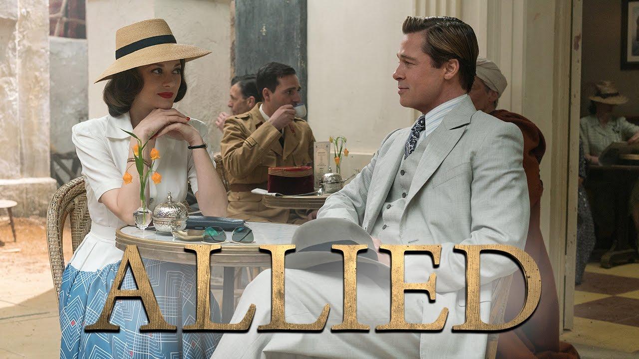 ALLIED - UN'OMBRA NASCOSTA con Brad Pitt e Marion Cotillard - Trailer italiano ufficiale